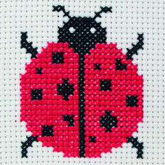 Ladybird Cross Stitch Kit