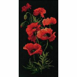 The Poppies Cross Stitch Kit