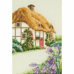 Thatched Cottage Starter Cross Stitch Kit