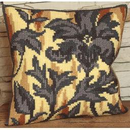 Silhouette On Right Cushion Panel Cross Stitch Kit