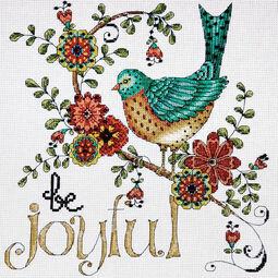 Be Joyful Cross Stitch Kit
