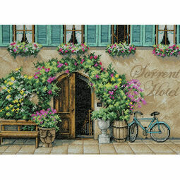 Sorrento Hotel Cross Stitch Kit