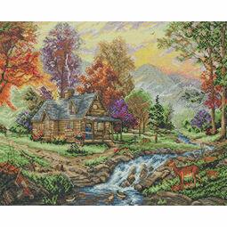 Mountain Retreat Cross Stitch Kit