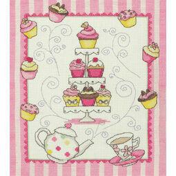 Cupcake Cross Stitch Kit