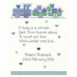 Baby Boy Verse Cross Stitch Kit