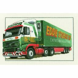 Eddie Stobart Volvo FH12 Cross Stitch Kit