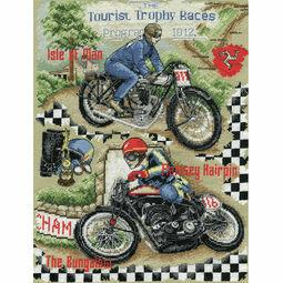 Isle Of Man TT Cross Stitch Kit