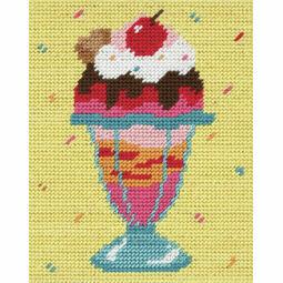 Cherry Top Sundae Beginners Tapestry Kit