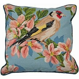 Goldfinch And Blossom Tapestry Cushion Panel Kit