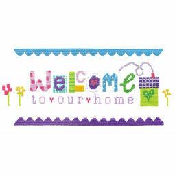 Welcome Cross Stitch Kit