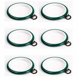"""Stitch Garden Set of 6 Embroidery Flexi Hoops - Green (3"""")"""