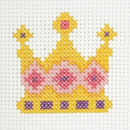 Crown Cross Stitch Kit