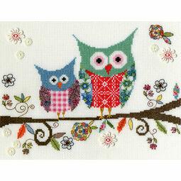 Love Woo Cross Stitch Kit