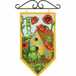 Summer Banner Cross Stitch Kit