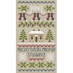 Noel Noel Alphabet Cross Stitch Kit
