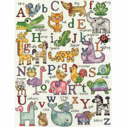 ABC Animals Cross Stitch Kit