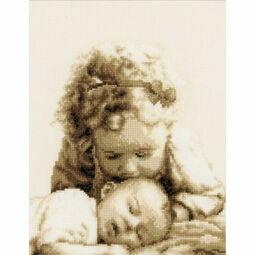 Sisterly Love Cross Stitch Kit