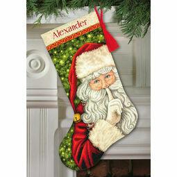 Secret Santa Cross Stitch Stocking Kit