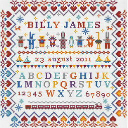 Baby Boy - Little Boy Cross Stitch Kit