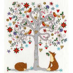Love Winter Cross Stitch Kit