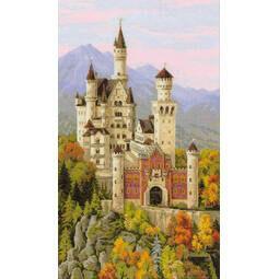 Neuschwanstein Castle Cross Stitch Kit by Riolis