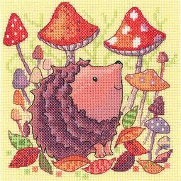 Hedgehog Cross Stitch Kit
