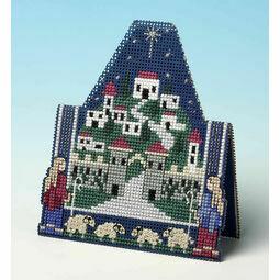 Shepherds Christmas 3D Cross Stitch Card Kit
