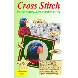 Cross Stitch Professional Platinum Plus Design Software