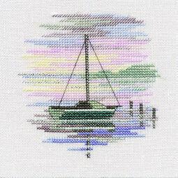 Sailing Boat Cross Stitch Kit