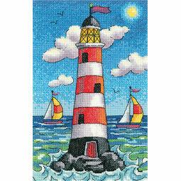 Lighthouse By Day Cross Stitch Kit