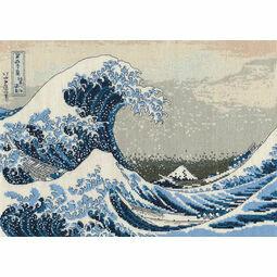 The Great Wave Cross Stitch Kit