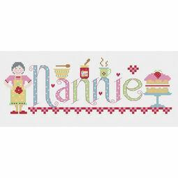 Nannie Cross Stitch Kit