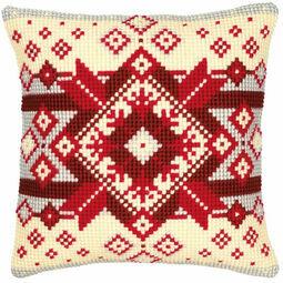 Geometric 2 Chunky Cross Stitch Cushion Panel Kit