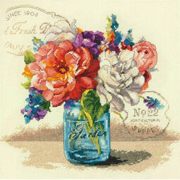 Garden Bouquet Cross Stitch Kit