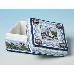 We Are Sailing Box 3D Cross Stitch Kit