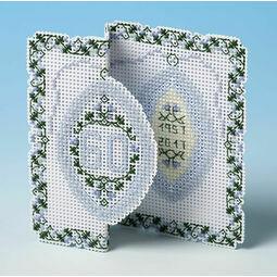 60th Diamond Anniversary 3D Cross Stitch Card Kit