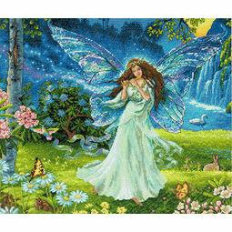 Spring Fairy Cross Stitch Kit