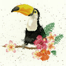 Toucan Of My Affection Cross Stitch Kit