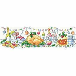 Christmas Dinner Cross Stitch Kit