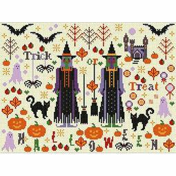 Halloween Spookies Cross Stitch Kit