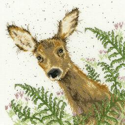 Doe A Deer Cross Stitch Kit