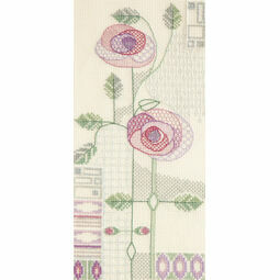 Morning Rose Cross Stitch Kit