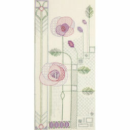 Evening Rose Cross Stitch Kit