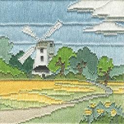Windmill Long Stitch Kit