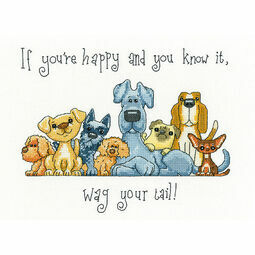 Wag Your Tail Cross Stitch Kit
