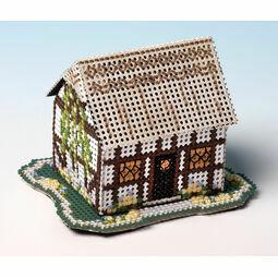 Primrose Cottage 3D Cross Stitch Kit