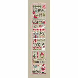 Christmas Wishes (Little Dove) Cross Stitch Kit