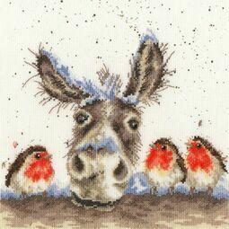 Christmas Donkey Cross Stitch Kit
