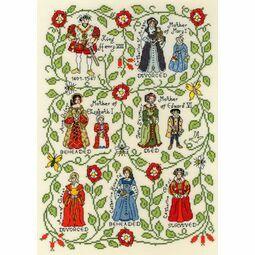 Henry VIII Cross Stitch Kit by Pete Smith