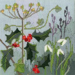 Winter Seasons Long Stitch Kit